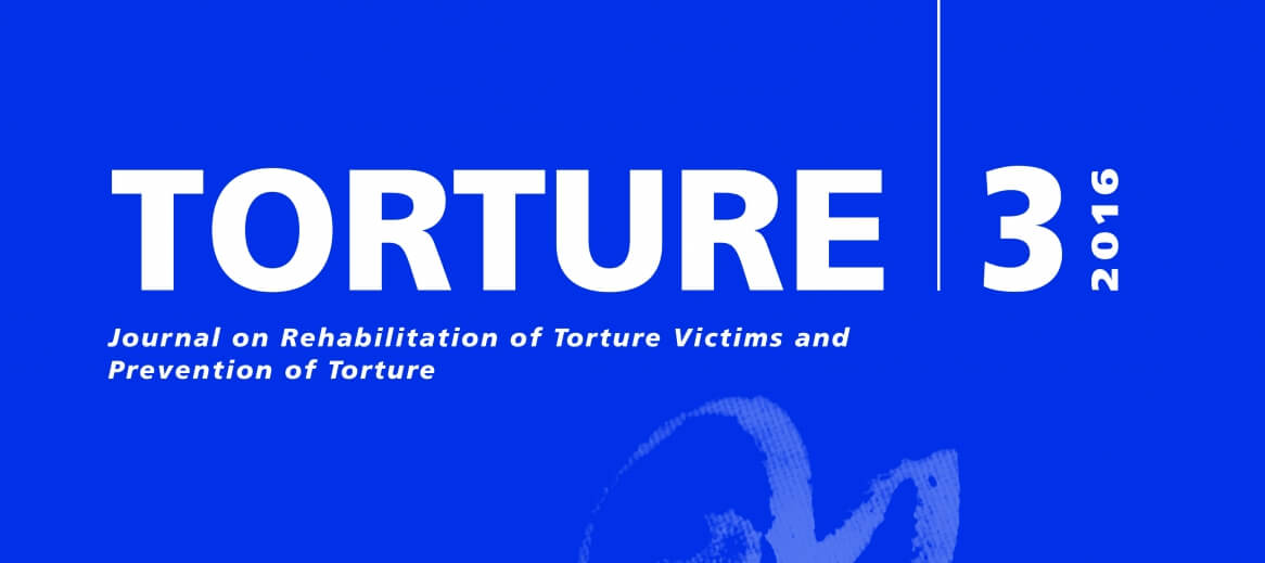 'How to measure empathy' among key studies in latest Torture Journal issue